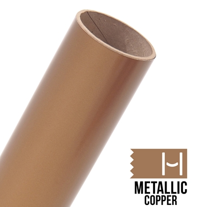 Picture of Oracal 651 Glossy Adhesive Vinyl Metallic Copper - Small