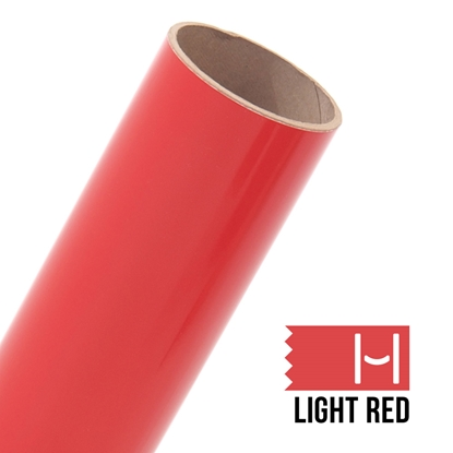 Picture of Oracal 651 Glossy Adhesive Vinyl Light Red - Small