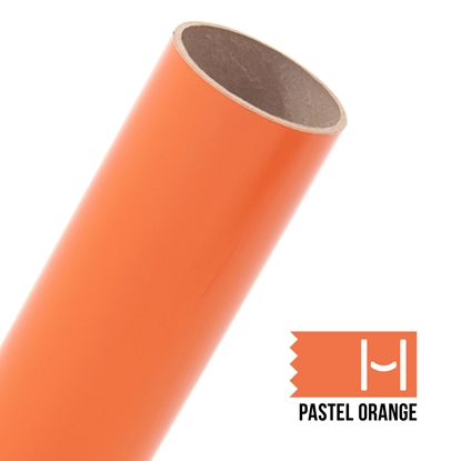 Picture of Oracal 651 Glossy Adhesive Vinyl Pastel Orange - Small