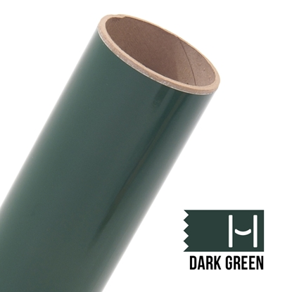 Picture of Oracal 651 Glossy Adhesive Vinyl Dark Green - Small