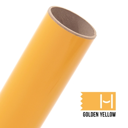Picture of Oracal 651 Glossy Adhesive Vinyl Golden Yellow - Large