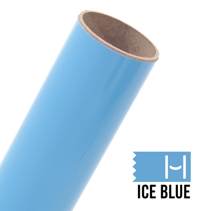 Picture of Oracal 651 Glossy Adhesive Vinyl Ice Blue - Large