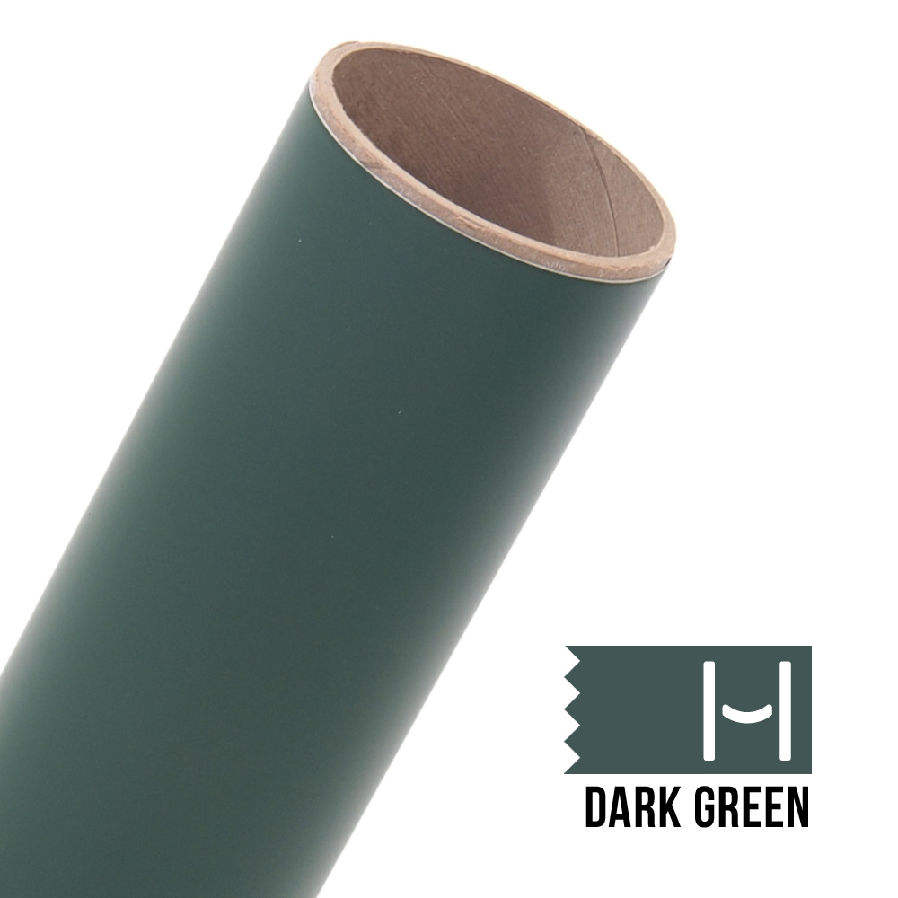 Oracal 631 Matte Adhesive Vinyl Dark Green Large Happy