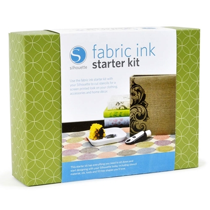 Picture of Silhouette Fabric Ink Starter Kit