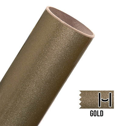 Picture of Glitter Adhesive Vinyl - Gold
