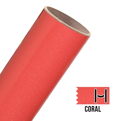 Picture of Glitter Adhesive Vinyl - Coral