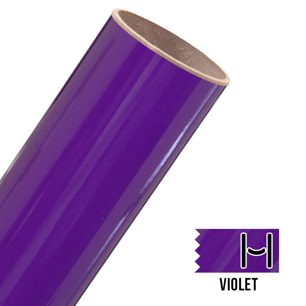 Oracal 651 Glossy Adhesive Vinyl Violet Small Happy