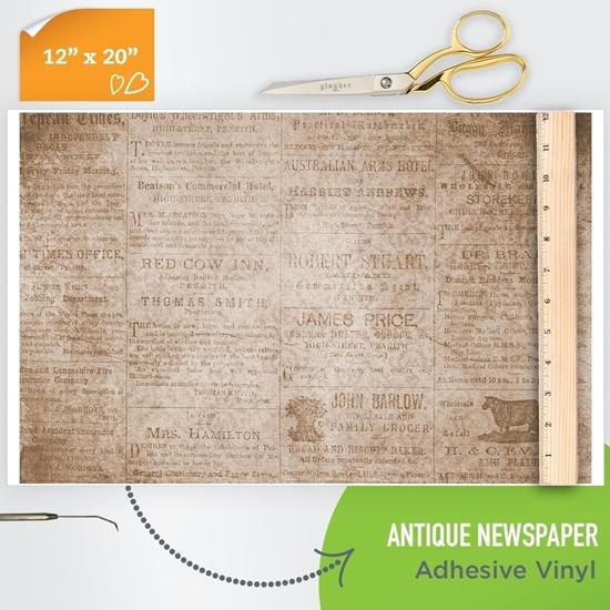newspaper-print-adhesive-vinyl