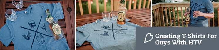 Creating T-Shirts for Guys with HTV | Whiskey Shirt Design