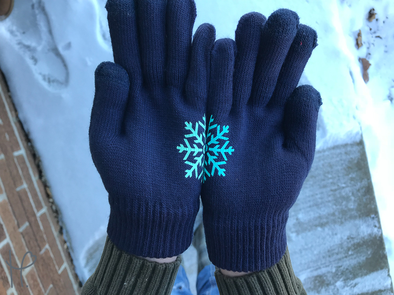 Applying Htv To Gloves Beginner Cricut Project Happy