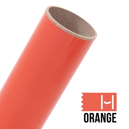 Picture of Oracal 651 Glossy Adhesive Vinyl Orange - Small