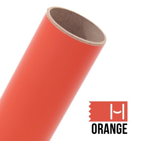 Picture of Oracal 631 Matte Adhesive Vinyl Orange - Small