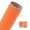 Picture of Oracal 631 Matte Adhesive Vinyl Pastel Orange - Small