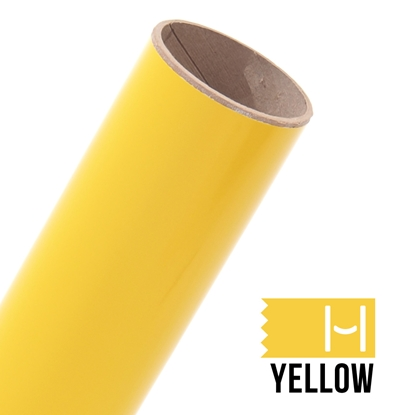 Picture of Oracal 651 Glossy Adhesive Vinyl Yellow - Large