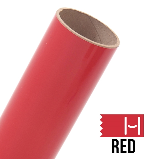 Picture of Oracal 651 Glossy Adhesive Vinyl Red - Large