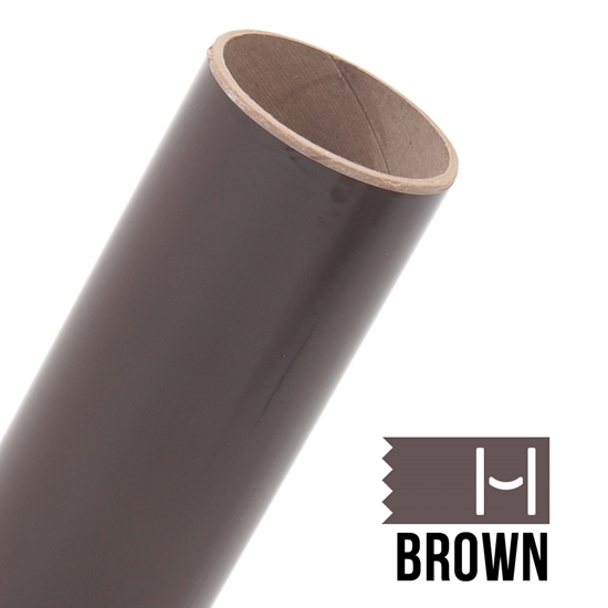 Picture of Oracal 651 Glossy Adhesive Vinyl Brown - Large