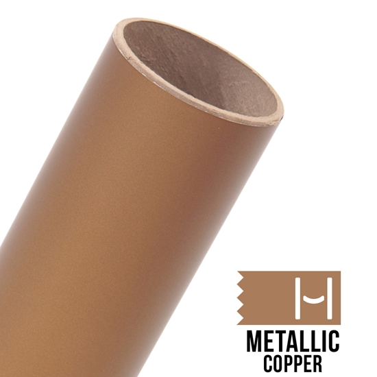 Picture of Oracal 631 Matte Adhesive Vinyl Metallic Copper - Large