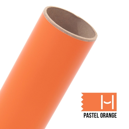 Picture of Oracal 631 Matte Adhesive Vinyl Pastel Orange - Large