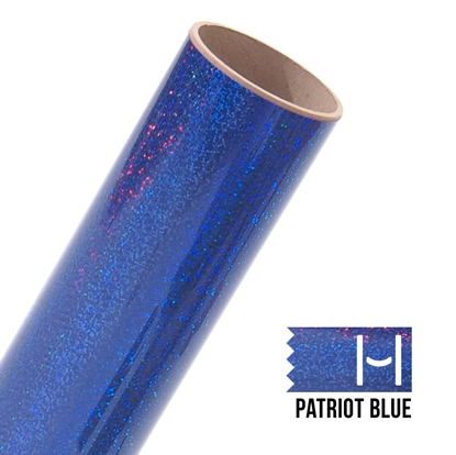 Picture of Happy Crafters Sparkle HTV - Patriot Blue Sparkle