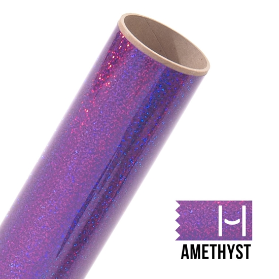 Picture of Happy Crafters Sparkle HTV - Amethyst Sparkle