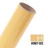 Picture of Happy Face Metallic Iron On Vinyl - Honey Bee