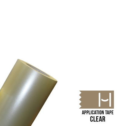 Picture of Happy Face Clear Application Tape - 6""