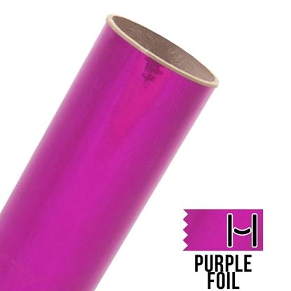 Picture of Happy Face Foil Adhesive Vinyl - Purple