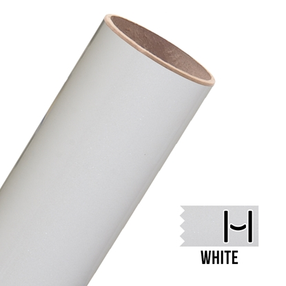 Picture of Glitter Adhesive Vinyl - White