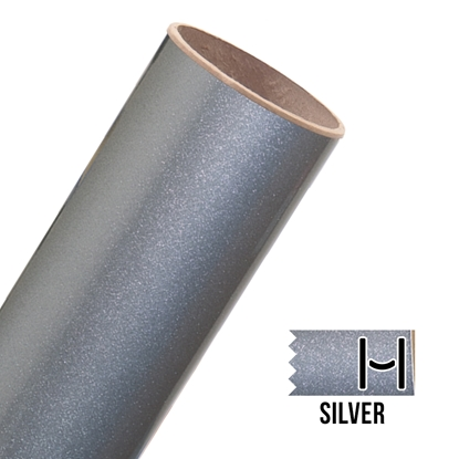 Picture of Glitter Adhesive Vinyl - Silver