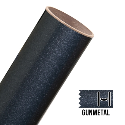 Picture of Glitter Adhesive Vinyl - Gunmetal