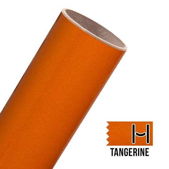 Picture of Glitter Adhesive Vinyl - Tangerine