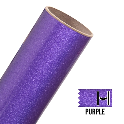 Picture of Glitter Adhesive Vinyl - Purple