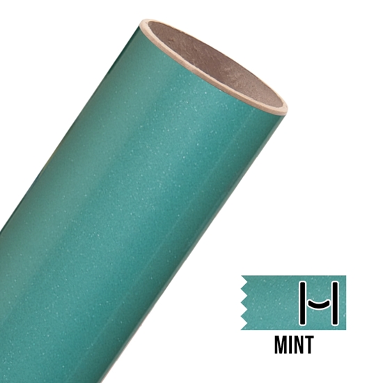 Picture of Glitter Adhesive Vinyl - Mint