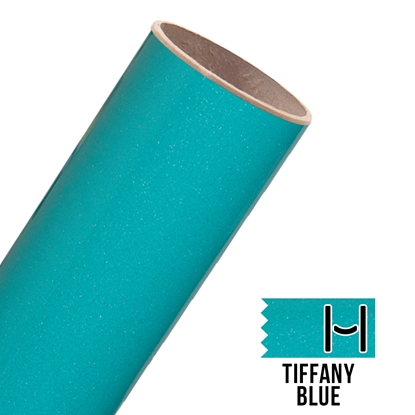 Picture of Glitter Adhesive Vinyl - Tiffany Blue