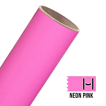 Picture of Glitter Adhesive Vinyl - Neon Pink