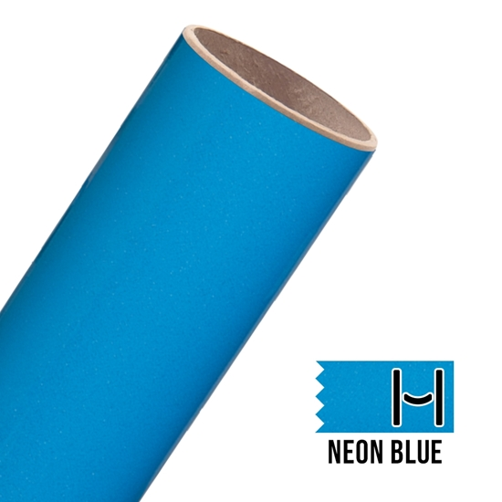 Picture of Glitter Adhesive Vinyl - Neon Blue