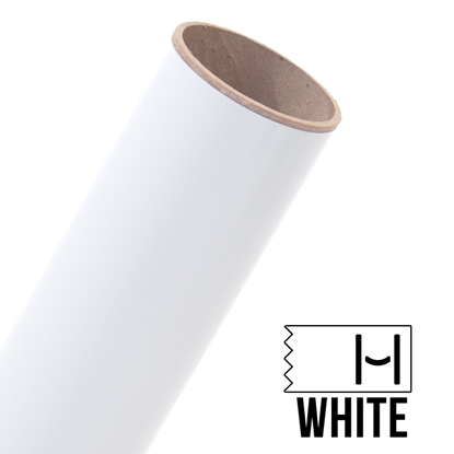 Picture of Oracal 651 Glossy Adhesive Vinyl White - 5 Yard Roll