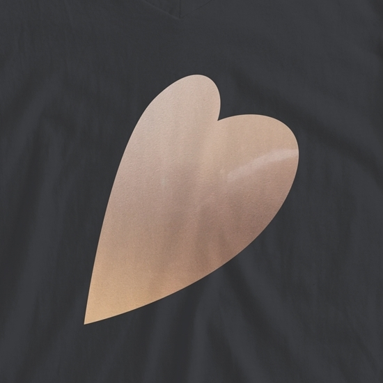 Picture of Happy Crafters Metallic Heat Transfer Vinyl - Rose Gold