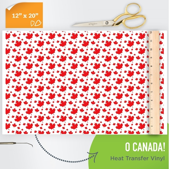 Picture of Happy Crafters Pattern HTV - O Canada!