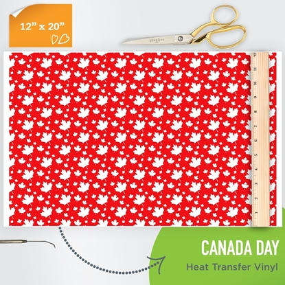 Picture of Happy Crafters Pattern HTV - Canada Day