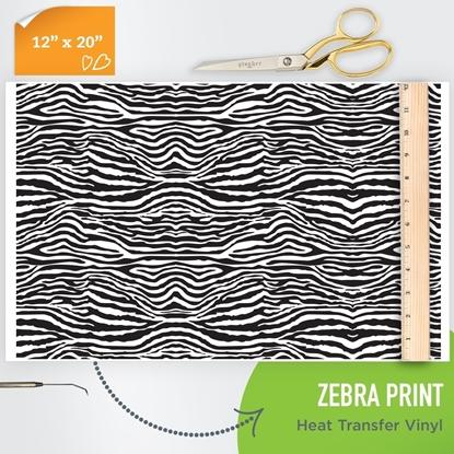 zebra animal print patterned htv