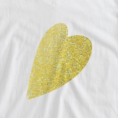 Picture of Happy Crafters Glitter Heat Transfer Vinyl - Lemon Sugar