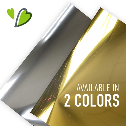 Picture of Siser® Metallic Heat Transfer Vinyl Sheets