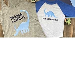 Matching Mommy and Me Shirts | Cricut Easypress Tutorial