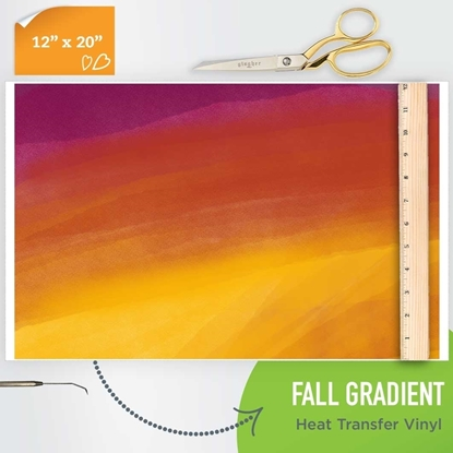 Picture of Happy Crafters Pattern HTV - Fall Gradient