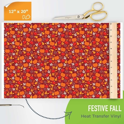 Picture of Happy Crafters Pattern HTV - Festive Fall