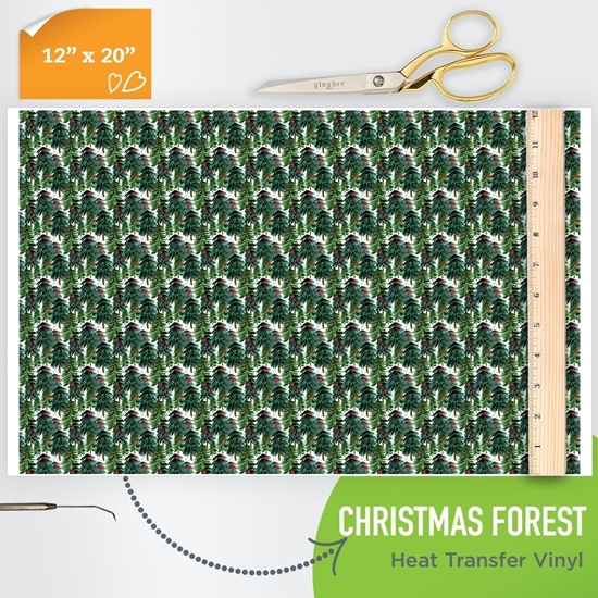 Picture of Happy Crafters Pattern HTV - Christmas Forest