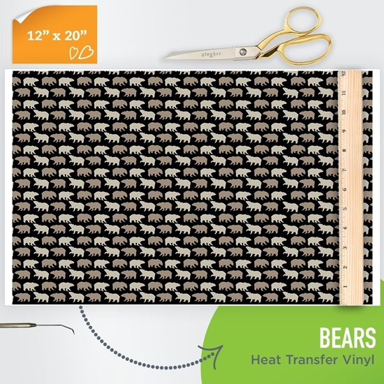 Picture of Happy Crafters Pattern HTV - Bears