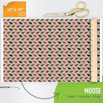 Picture of Happy Crafters Pattern HTV - Moose