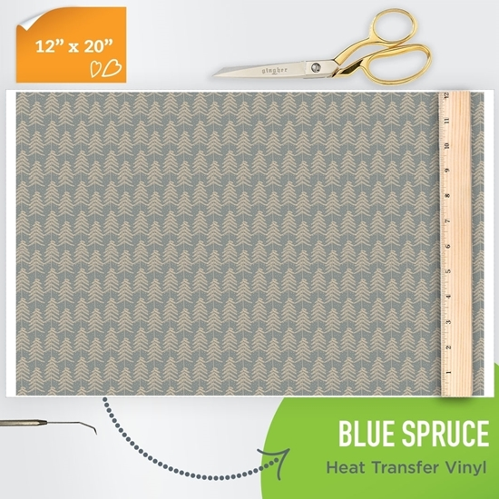 Picture of Happy Crafters Pattern HTV - Blue Spruce